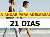 Plan andar días ayudará perder peso