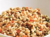 Ensalada lentejas arroz
