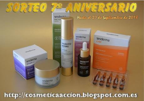 Nuevo Sorteo de Sedesma en el blog cosmetica en accion