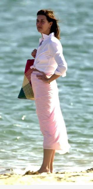 estilo playa Carolina pareo