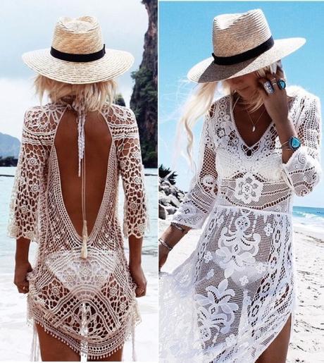 estilo playa vestido ganchillo 1