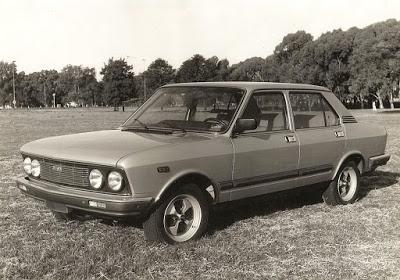 Fiat 132 2000, un importado en Argentina