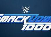 Smackdown número 1000 (mil) confirma fecha lugar