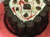 Tarta rollitos chocolate helada thermomix tradicional