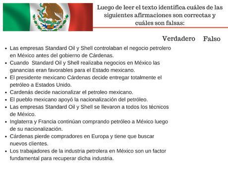 La nacionalización del petróleo en México (PUE)