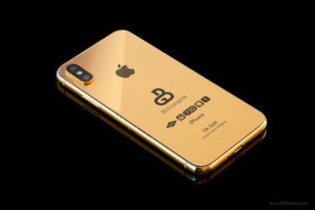 El iPhone 2018 chapado en oro está listo para su pre-orden, y te costará £ 100,000
