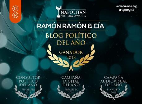 Napolitan Victory Awards al Mejor Blog Político del Año