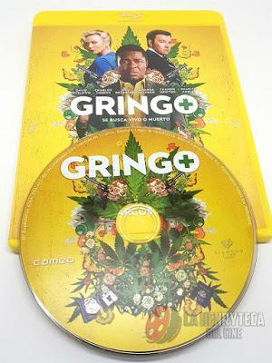 Gringo, Análisis de la edición en Bluray