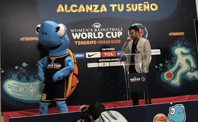 ¿Cómo nació Tina, la mascota del Mundial de baloncesto de Tenerife?