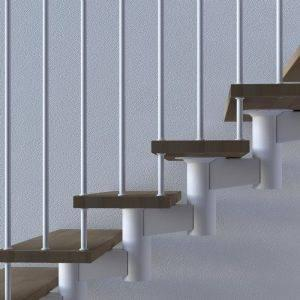 Escaleras helicoidales: ¿qué las diferencia de las escaleras de caracol?