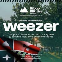 Bilbao BBK Live 2019, Weezer
