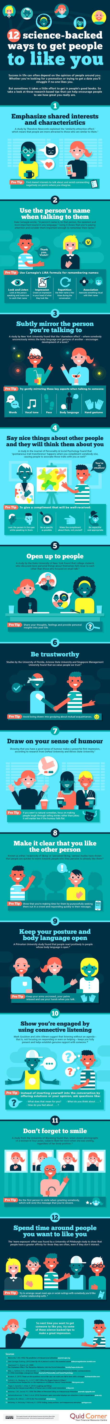 12 maneras científicamente probadas de agradarle más a las personas
