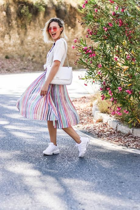 MY FAVOURITE STRIPED SKIRT