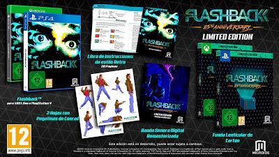 La versión 25 aniversario de Flashback también en Xbox One y PS4