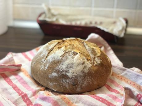 Pan de aceitunas negras