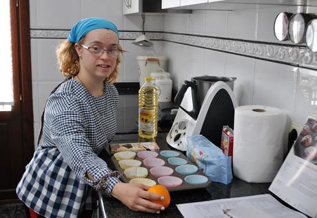 MAGDALENAS DE CHOCOLATE SIN GLUTEN