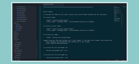 Mejorar el Aspecto UI de sublime Text 3