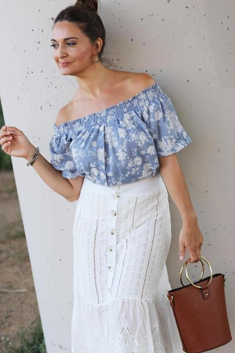 5005acc3b Como combinar una falda blanca con encaje - Paperblog