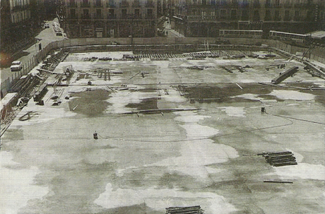 El primer aparcamiento subterráneo de Valladolid