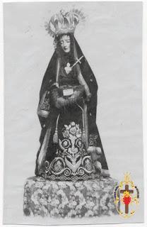 El manto de la Virgen en 1939 (Villacarrillo)