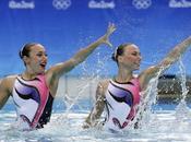 natación sincronizada sonrisa como deber femenino
