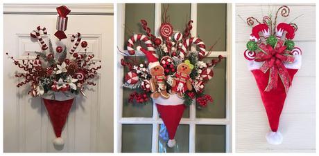 Adornos de navidad para puertas stunning with adornos de for Adorno navidad puerta entrada