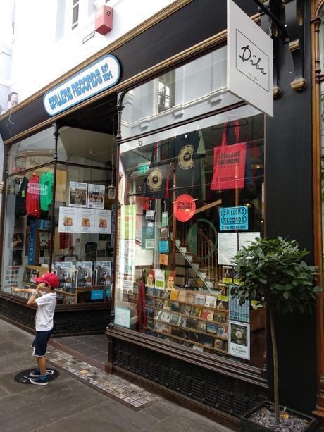 Spillers Records, en Queens Arcade