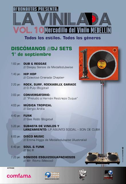 La Vinilada Vol. 10 / 3 días para celebrar la cultura vinilera