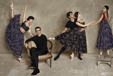 Bailarines del royal ballet for Erdem