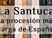 Procesión larga España puente Mayo, Liébana. Santuca.