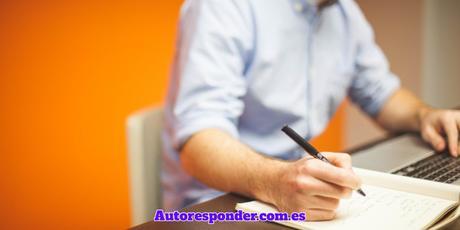 Escribiendo para un autoresponder
