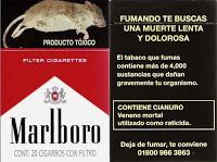 Las Etiquetas de Advertencia disminuyen su eficacia en los Fumadores