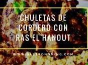 Chuletas cordero Hanout