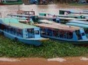 Tonle Sap: vivir flotando encima lago grande Camboya