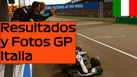 Resultados y Fotos del GP de Italia 2018   Estadísticas e imágenes
