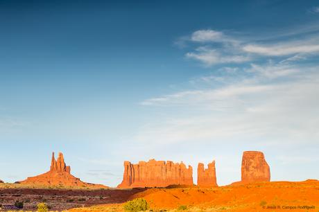 Los icónicos buttes de Monument Valley