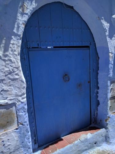 Las puertas de Xauen. Marruecos