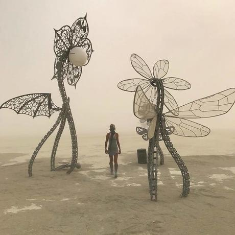 El espectacular festival Burning Man 2018