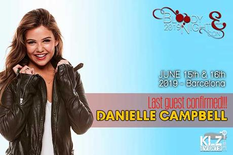2ª invitada de la BloodyNightCon 9: Danielle Campbell