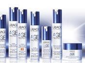 "Protegiendo rostro azul nueva gama ""Age Protect"" URIAGE"