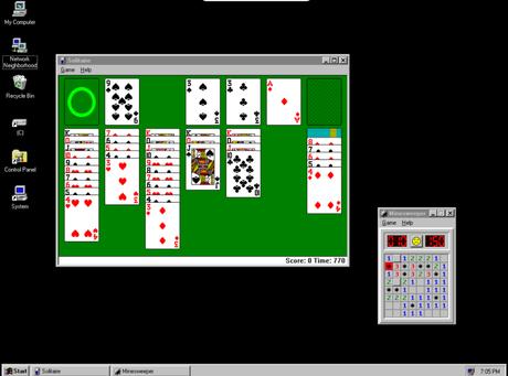 Ejecutar Windows 95 como App en Windows, Mac y Linux - Paperblog