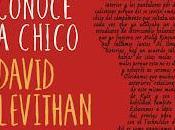 Reseña Chico conoce chico David Levithan