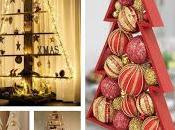 Hermosas ideas árboles navideños hechos madera