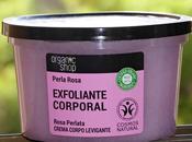 Exfoliante corporal rosa orgánica Organic Shop, cost bueno