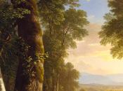 paisaje norteamericano Walt Whtiman Asher Brown Durand.