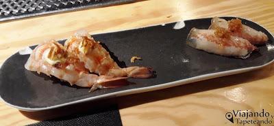Nakeima: comida fusión y postureo