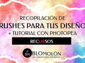 Recopilación Brushes Para Diseños Tutorial Photopea