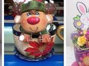 Aprende cómo decorar tazas yeso cerámica paso