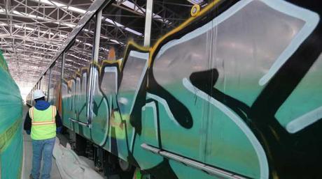 Apología al grafiti del Metro