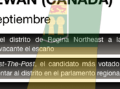 Partido Saskatchewan vuelve medir fuerza urnas vista puesta elecciones 2020